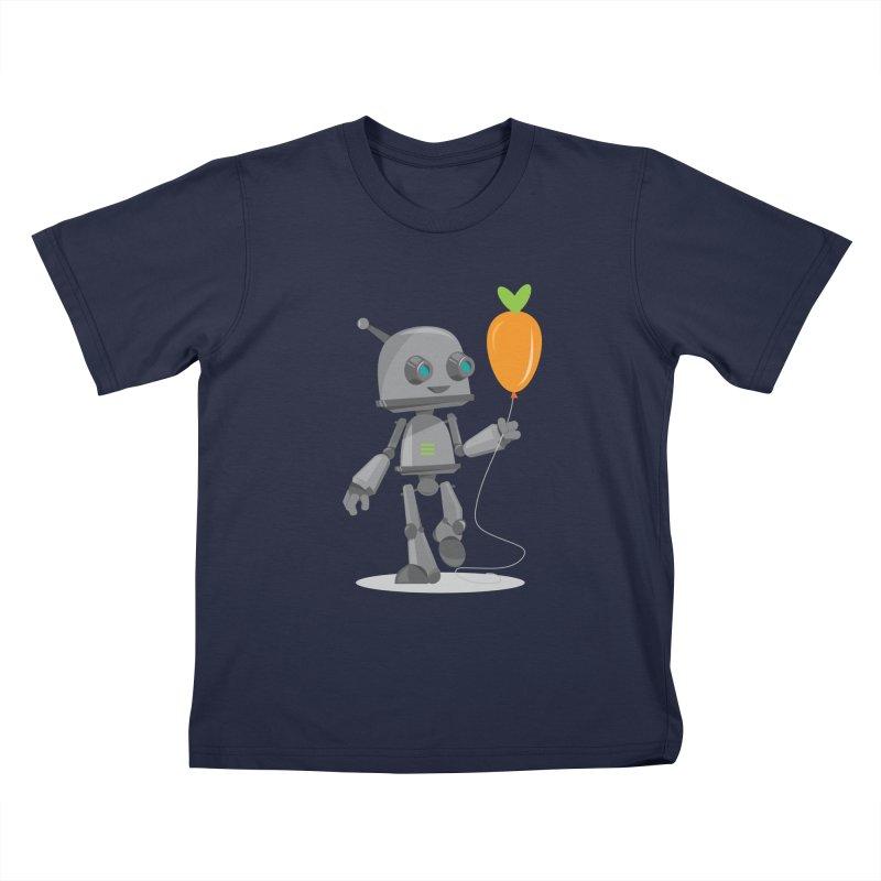 Vegan Bot Kids T-Shirt by jr0bert's Shop