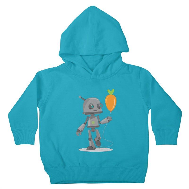 Vegan Bot Kids Toddler Pullover Hoody by jr0bert's Shop