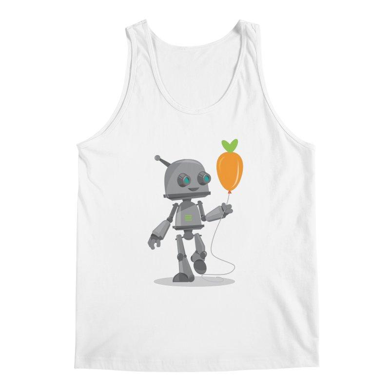 Vegan Bot Men's Tank by jr0bert's Shop