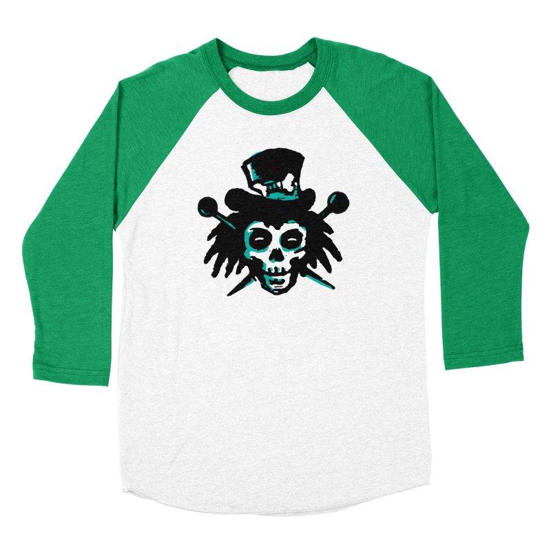 VooDooTemplate Women's Baseball Triblend T-Shirt by jredoudesign Artist Shop