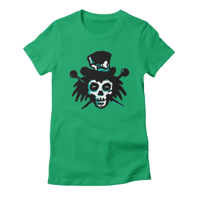 VooDooTemplate Women's Fitted T-Shirt by jredoudesign Artist Shop