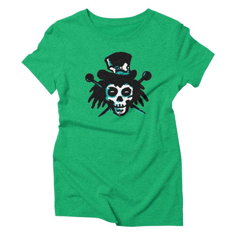 VooDooTemplate Women's Triblend T-shirt by jredoudesign Artist Shop