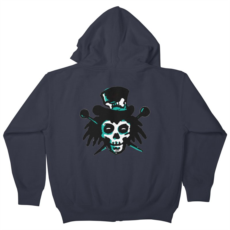 VooDooTemplate Kids Zip-Up Hoody by jredoudesign Artist Shop