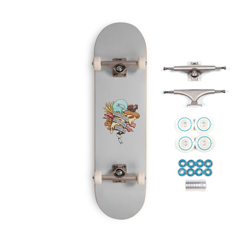 Cheat Day Accessories Complete - Basic Skateboard by jrieman's Artist Shop