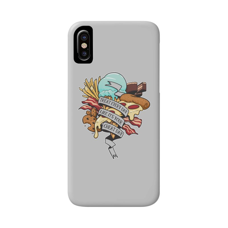 Cheat Day Accessories Phone Case by jrieman's Artist Shop