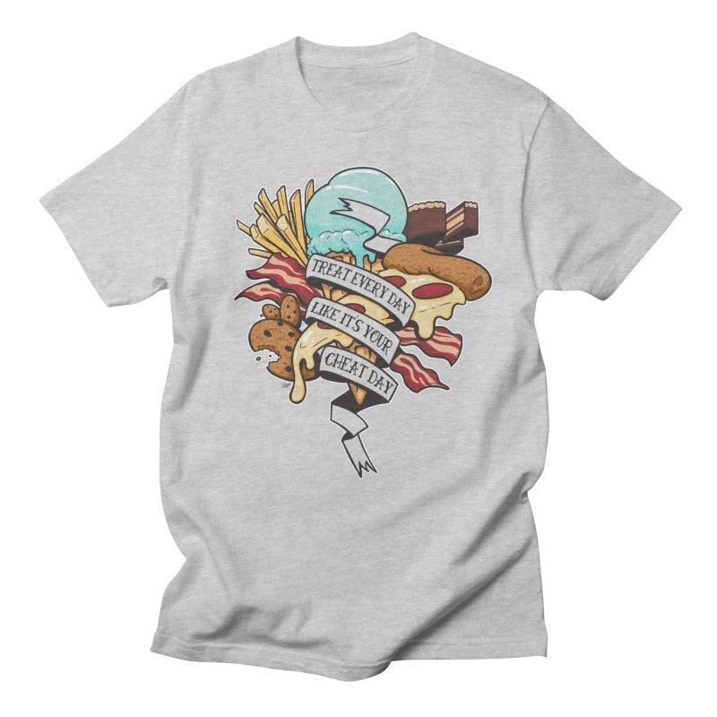 Cheat Day Men's T-shirt by jrieman's Artist Shop