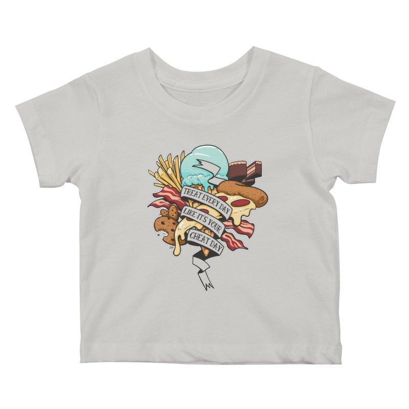 Cheat Day Kids Baby T-Shirt by jrieman's Artist Shop