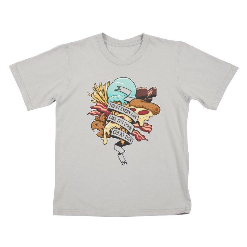 Cheat Day Kids T-shirt by jrieman's Artist Shop