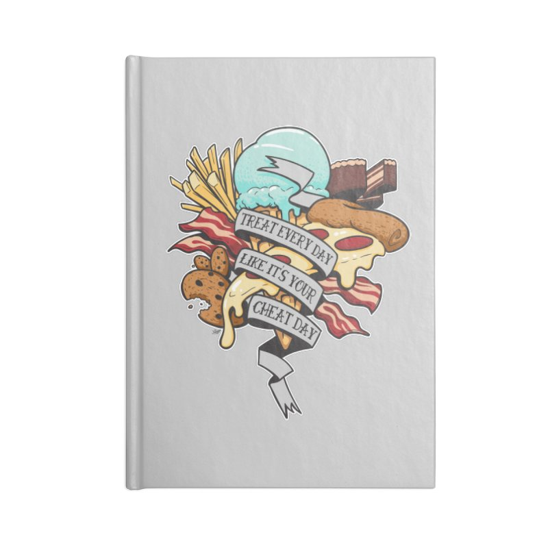 Cheat Day Accessories Notebook by jrieman's Artist Shop