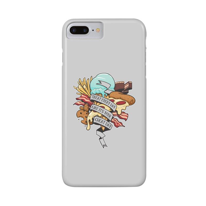 Cheat Day Accessories Phone Case by jrieman's Artist Shop