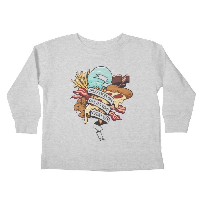 Cheat Day Kids Toddler Longsleeve T-Shirt by jrieman's Artist Shop