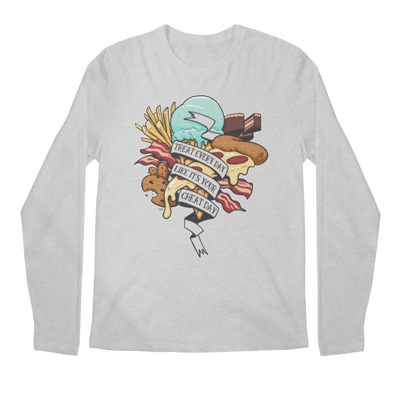 Cheat Day Men's Longsleeve T-Shirt by jrieman's Artist Shop
