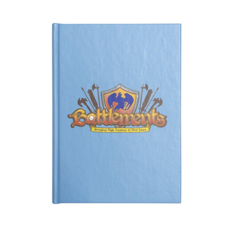 Battlements the Tee Shirt Accessories Notebook by jrieman's Artist Shop