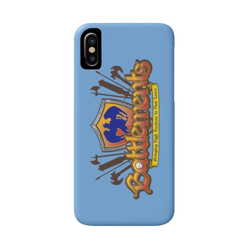 Battlements the Tee Shirt Accessories Phone Case by jrieman's Artist Shop