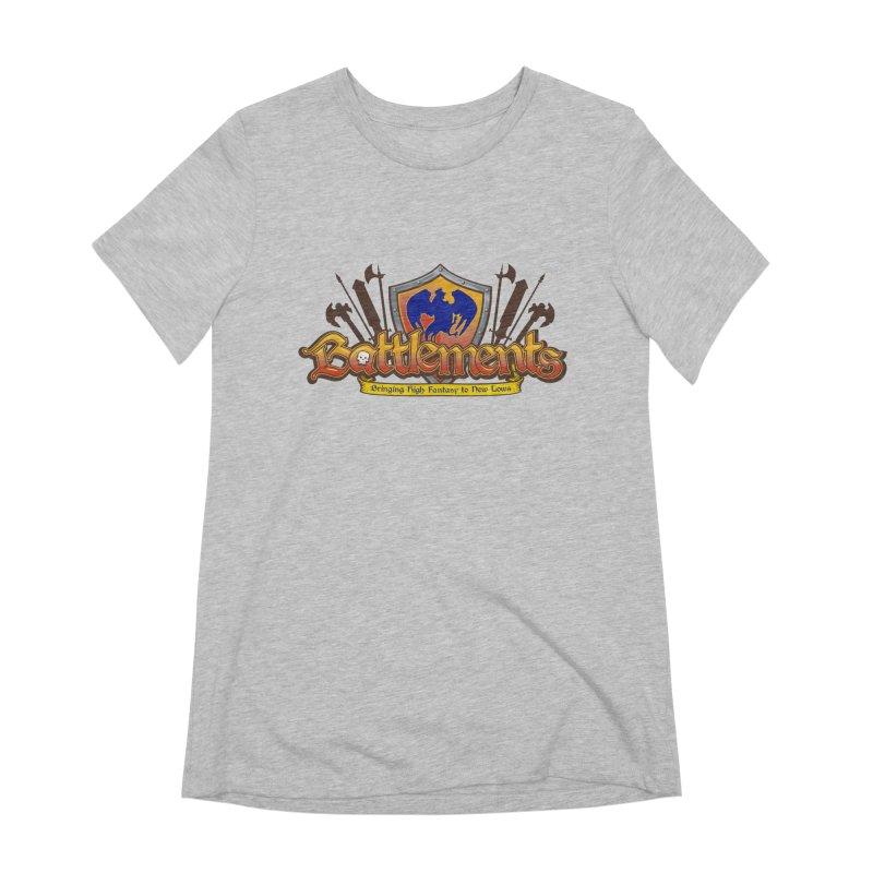 Battlements the Tee Shirt Women's Extra Soft T-Shirt by jrieman's Artist Shop