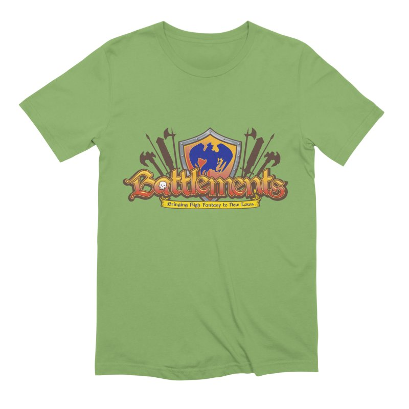 Battlements the Tee Shirt Men's Extra Soft T-Shirt by jrieman's Artist Shop