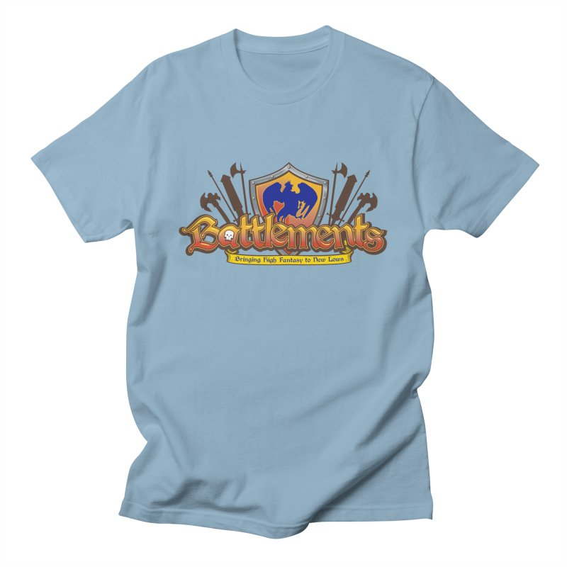 Battlements the Tee Shirt Men's Regular T-Shirt by jrieman's Artist Shop
