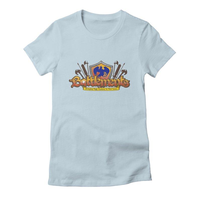 Battlements the Tee Shirt Women's T-Shirt by jrieman's Artist Shop