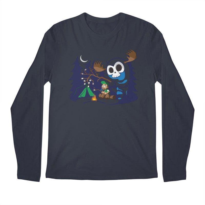 Wendigo Camping  Men's Longsleeve T-Shirt by jrieman's Artist Shop