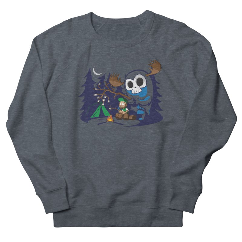 Wendigo Camping Women's French Terry Sweatshirt by jrieman's Artist Shop