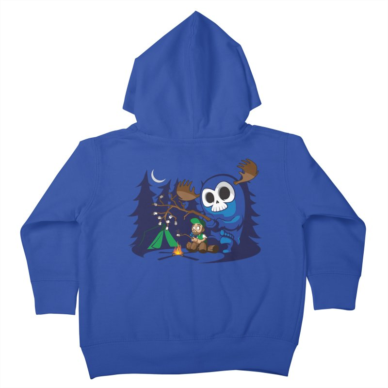 Wendigo Camping Kids Toddler Zip-Up Hoody by jrieman's Artist Shop