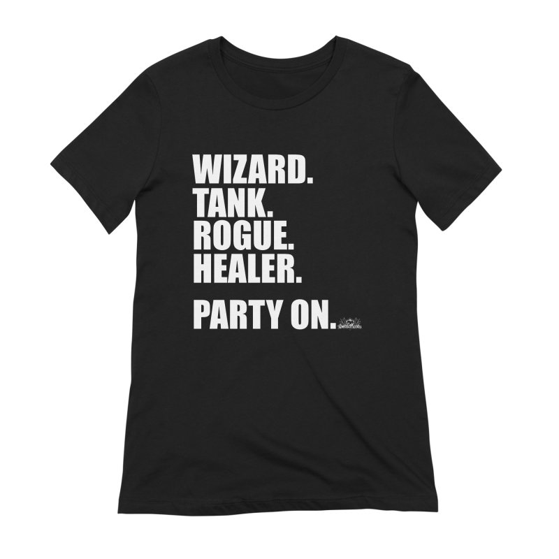 Party On Women's Extra Soft T-Shirt by jrieman's Artist Shop