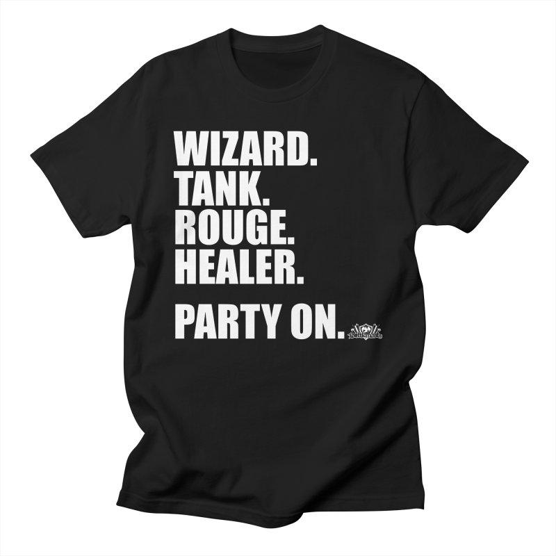 Party On Men's Regular T-Shirt by jrieman's Artist Shop