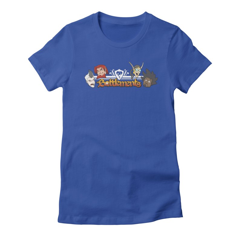 Knuckelheads Women's Fitted T-Shirt by jrieman's Artist Shop