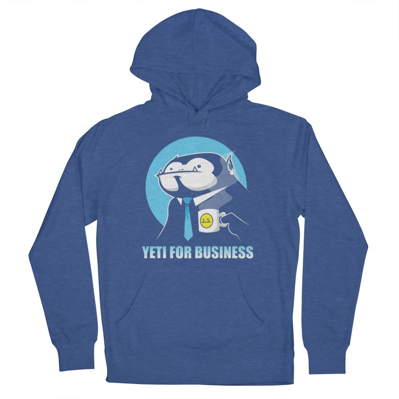 Yeti for Business Women's Pullover Hoody by jrieman's Artist Shop