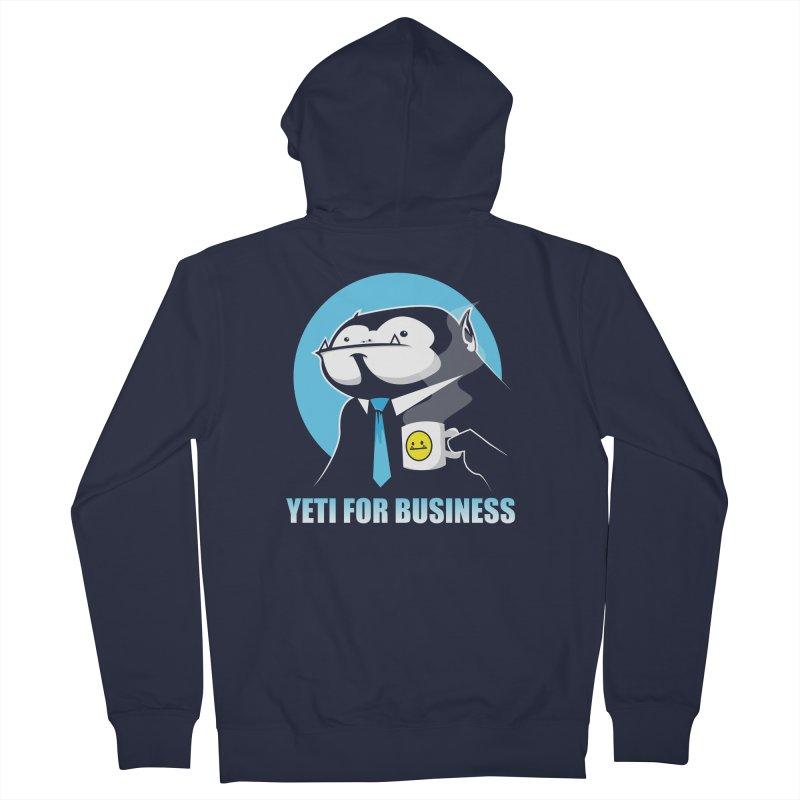 Yeti for Business Women's Zip-Up Hoody by jrieman's Artist Shop