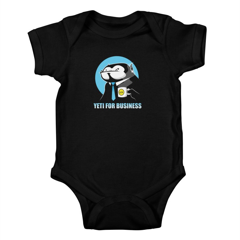 Yeti for Business Kids Baby Bodysuit by jrieman's Artist Shop