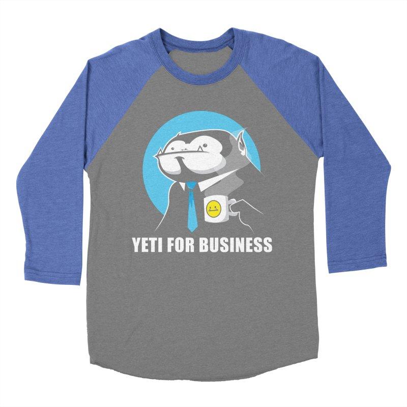 Yeti for Business Women's Longsleeve T-Shirt by jrieman's Artist Shop