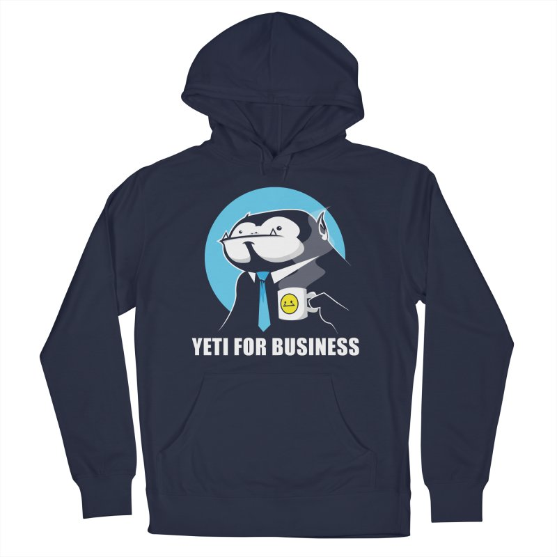 Yeti for Business Women's French Terry Pullover Hoody by jrieman's Artist Shop