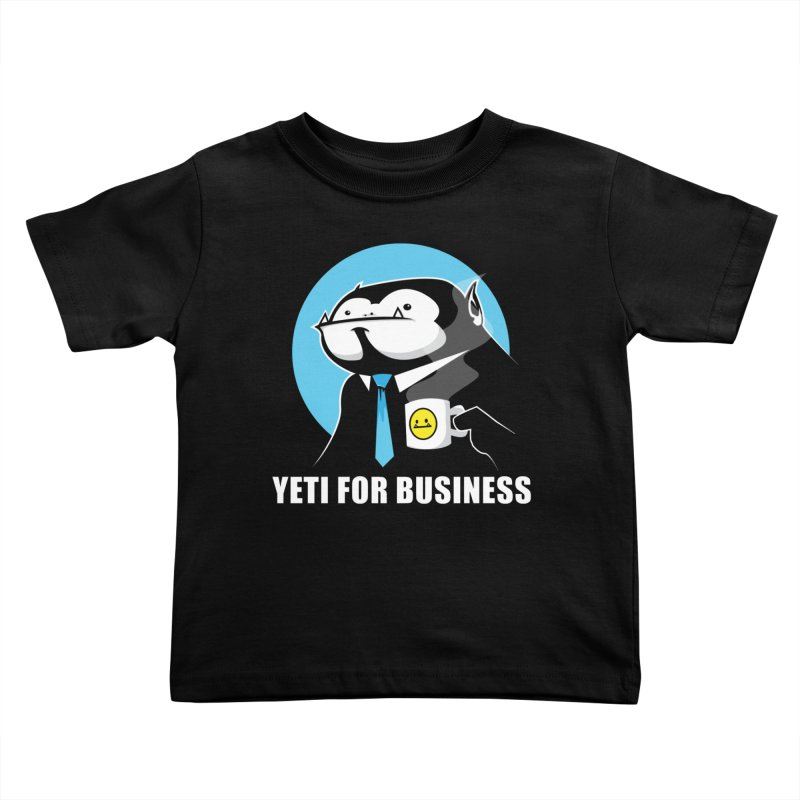 Yeti for Business Kids Toddler T-Shirt by jrieman's Artist Shop