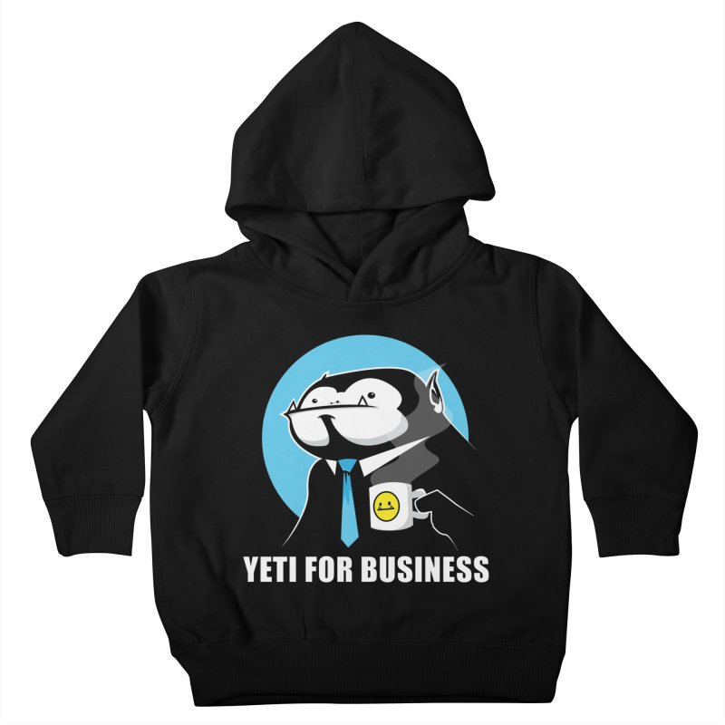 Yeti for Business Kids Toddler Pullover Hoody by jrieman's Artist Shop