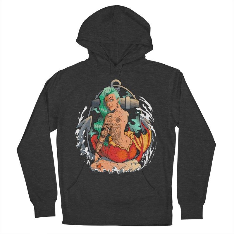 Mermaid Ink Women's Pullover Hoody by jrieman's Artist Shop