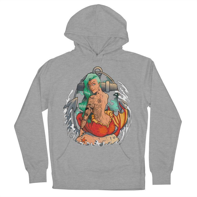 Mermaid Ink Men's Pullover Hoody by jrieman's Artist Shop
