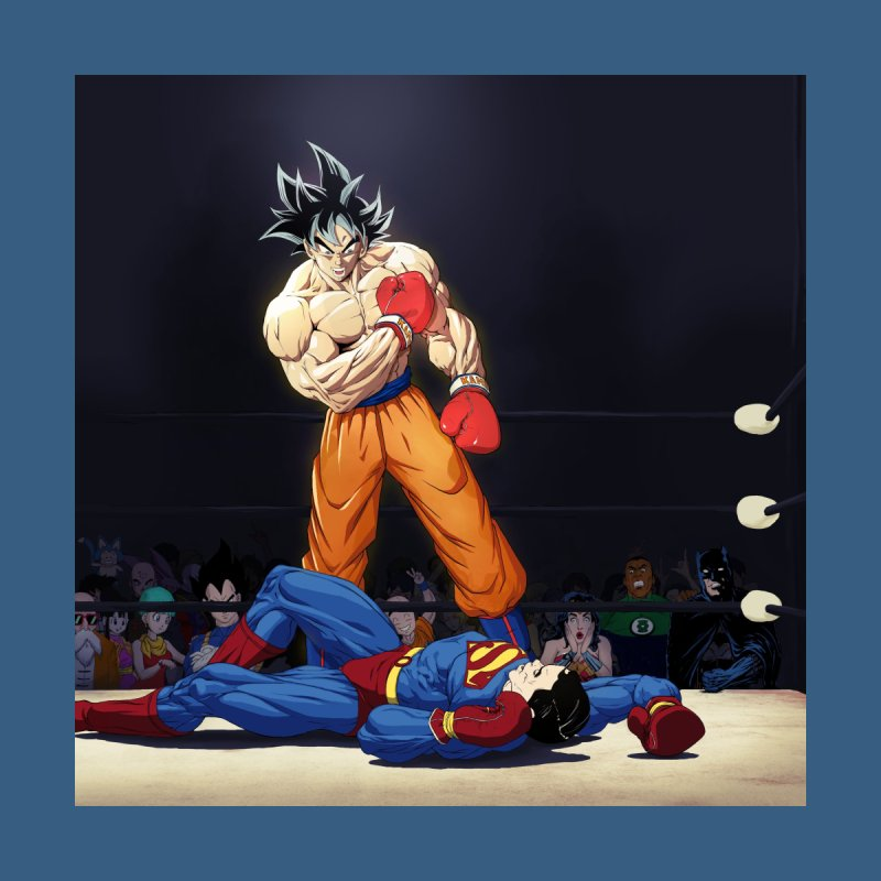 Jrillustrations Goku Vs Superman Home