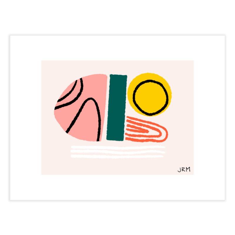 Regnbogi I Home Fine Art Print by Jenny Rose Mikac
