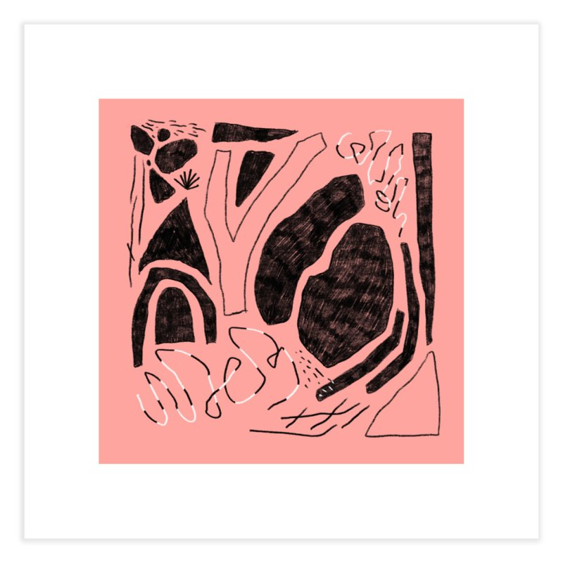 Square No. 4 Home Fine Art Print by Jenny Rose Mikac