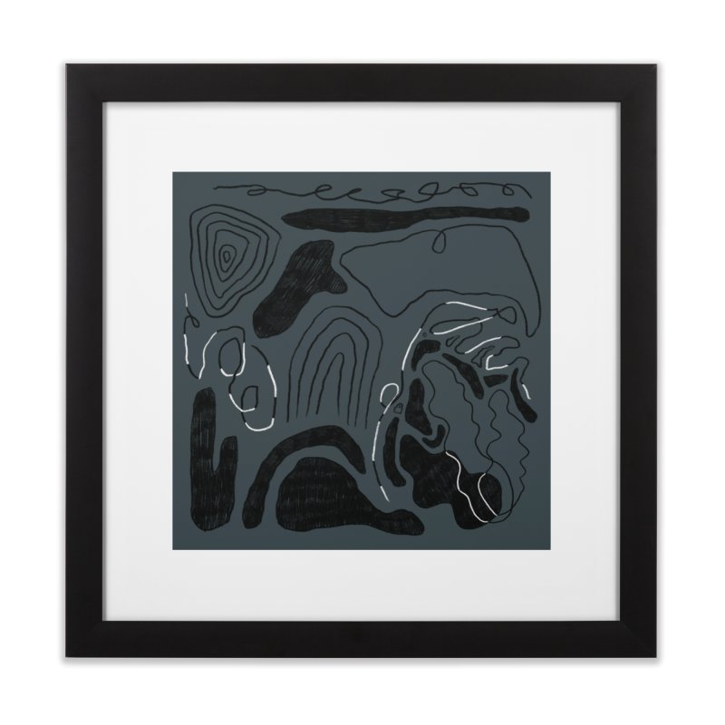 Square No. 6 Home Framed Fine Art Print by Jenny Rose Mikac