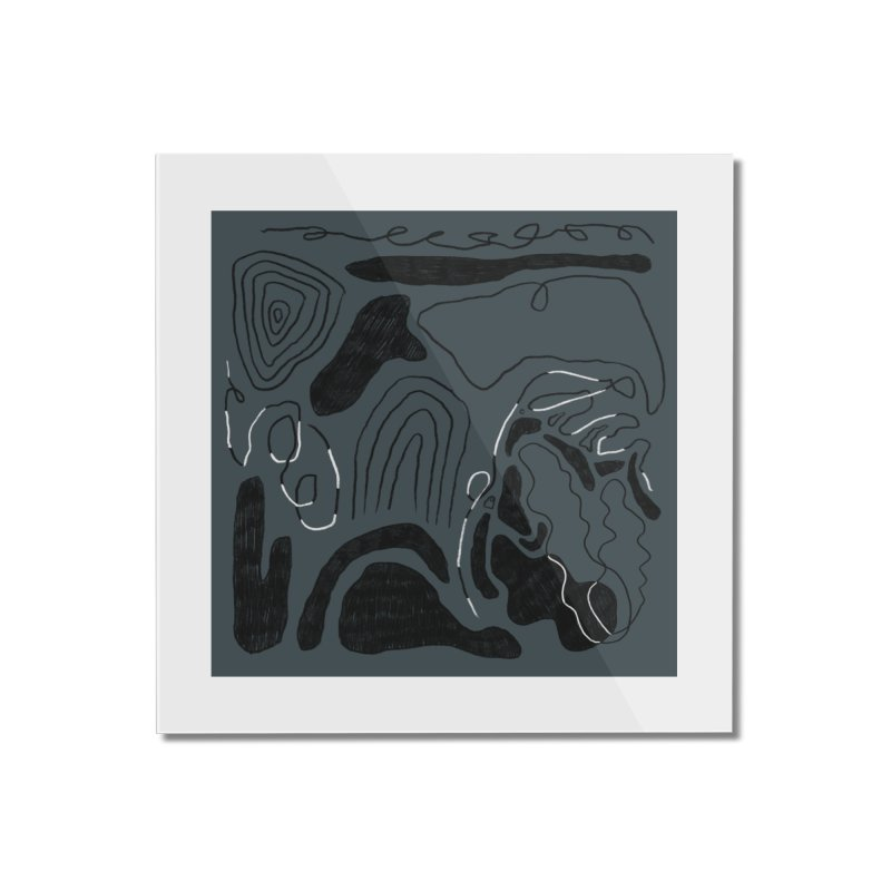 Square No. 6 Home Mounted Acrylic Print by Jenny Rose Mikac