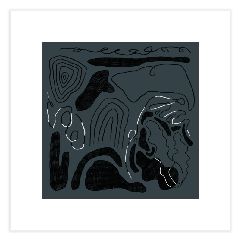 Square No. 6 Home Fine Art Print by Jenny Rose Mikac