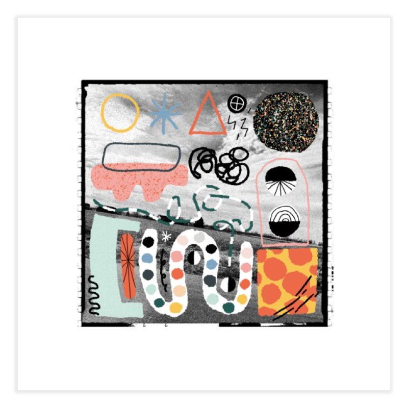Square No. 12 Home Fine Art Print by Jenny Rose Mikac