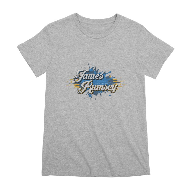 JRTI Splatter Women's Premium T-Shirt by James Rumsey Technical Institute