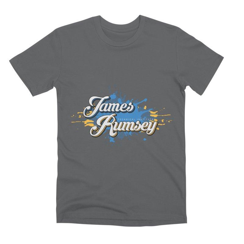 JRTI Splatter Men's Premium T-Shirt by James Rumsey Technical Institute