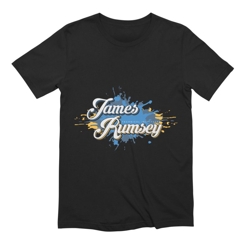 JRTI Splatter Men's Extra Soft T-Shirt by James Rumsey Technical Institute