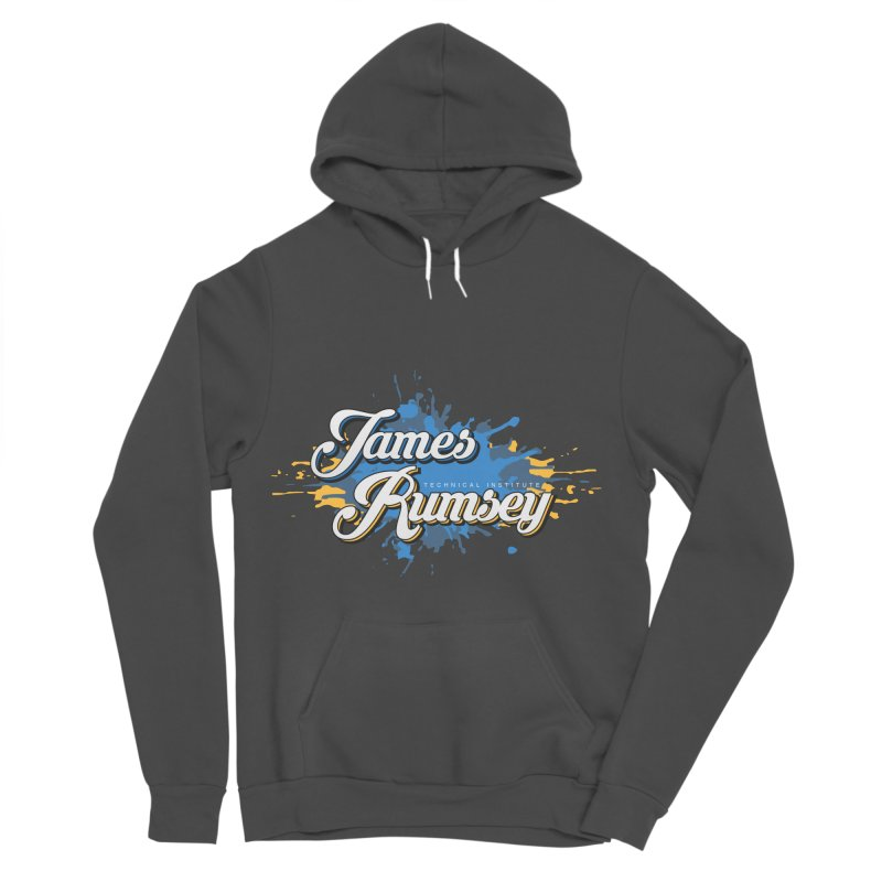 JRTI Splatter Women's Sponge Fleece Pullover Hoody by James Rumsey Technical Institute