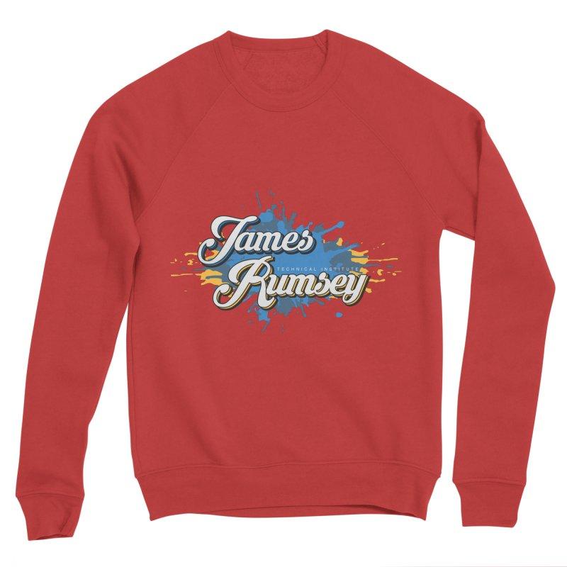 JRTI Splatter Men's Sponge Fleece Sweatshirt by James Rumsey Technical Institute