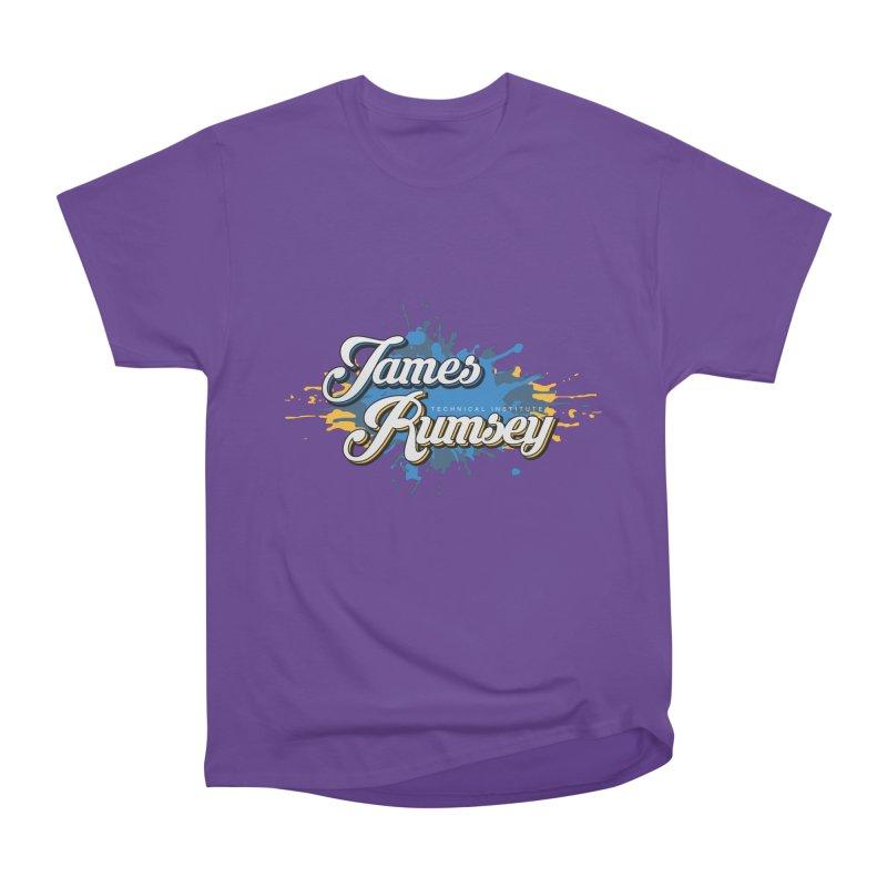 JRTI Splatter Men's Heavyweight T-Shirt by James Rumsey Technical Institute
